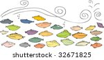 sea fish | Shutterstock .eps vector #32671825