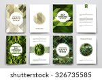 set of brochure  poster... | Shutterstock .eps vector #326735585