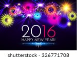 happy new 2016 year. seasons... | Shutterstock .eps vector #326771708