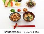 japanese cuisine | Shutterstock . vector #326781458
