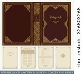 Vintage Book Layouts And Desig...
