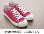 red shoe man | Shutterstock . vector #326827172