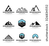 mountains  9  | Shutterstock .eps vector #326834552