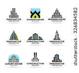 buildings. real estate  14  | Shutterstock .eps vector #326834582