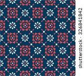 seamless pattern thai art | Shutterstock .eps vector #326841842
