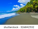 wild beach at corcovado... | Shutterstock . vector #326842532