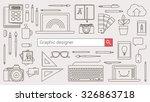 graphic designer  illustration... | Shutterstock .eps vector #326863718