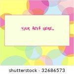 funny background | Shutterstock .eps vector #32686573