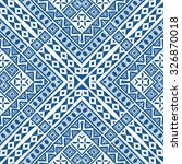 Abstract Graphic Ethnic Patter...