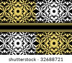 decorative vector background | Shutterstock .eps vector #32688721