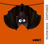 backround cartoons bat funny  ... | Shutterstock .eps vector #326910602