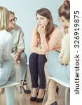 support group during... | Shutterstock . vector #326919875