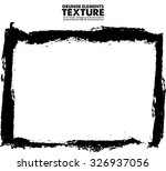 grunge frame   abstract texture.... | Shutterstock .eps vector #326937056