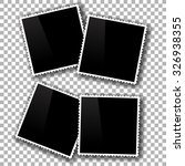 photo frames isolated on... | Shutterstock . vector #326938355