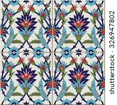 gorgeous seamless  pattern from ... | Shutterstock .eps vector #326947802