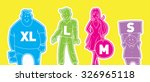 set of cartoon vector people... | Shutterstock .eps vector #326965118