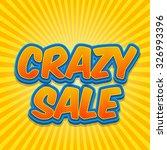banner flyer pop art comic... | Shutterstock .eps vector #326993396