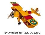 model of plane handmade isolated | Shutterstock . vector #327001292