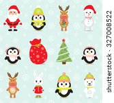 new year 2016. christmas... | Shutterstock .eps vector #327008522