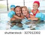 Portrait Of Family Having Fun...