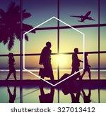hexagon icon frame symbol copy... | Shutterstock . vector #327013412