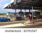 border crossing point in serbia | Shutterstock . vector #32701567