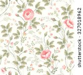 seamless floral pattern with... | Shutterstock .eps vector #327018962