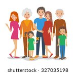 vector flat illustration of... | Shutterstock .eps vector #327035198