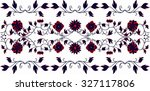 hungarian folk art | Shutterstock .eps vector #327117806