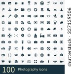 photography icons vector set | Shutterstock .eps vector #327129506