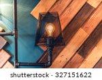interior design lamps  living... | Shutterstock . vector #327151622