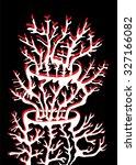 vector illustration of abstract ... | Shutterstock .eps vector #327166082