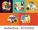 seo   development   Shutterstock .eps vector #327213332