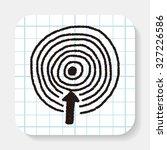 target doodle | Shutterstock . vector #327226586