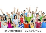group of people community... | Shutterstock . vector #327247472