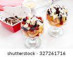 Fruit Salad With Whipped...