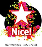 fun dotted star | Shutterstock .eps vector #32727238