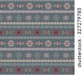 tribal art ethnic seamless... | Shutterstock .eps vector #327279785