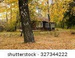 An Old Wooden House In The...