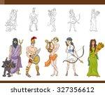 cartoon vector illustration of... | Shutterstock .eps vector #327356612
