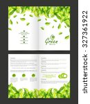 creative stylish brochure ... | Shutterstock .eps vector #327361922