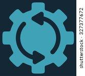refresh engine glyph icon....