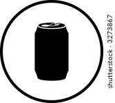 beverage can symbol stock vector royalty free 3273867 shutterstock