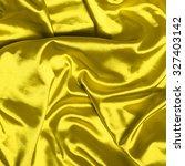 Smooth Elegant Yellow Silk...