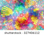 abstract colorful background... | Shutterstock . vector #327406112