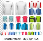 collection of various male long ...   Shutterstock .eps vector #327434765