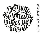 hand lettering typography... | Shutterstock .eps vector #327438362