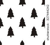 happy holidays print design | Shutterstock .eps vector #327444242