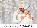 Winter  Fashion  Couple ...
