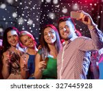 party  holidays  technology ... | Shutterstock . vector #327445928
